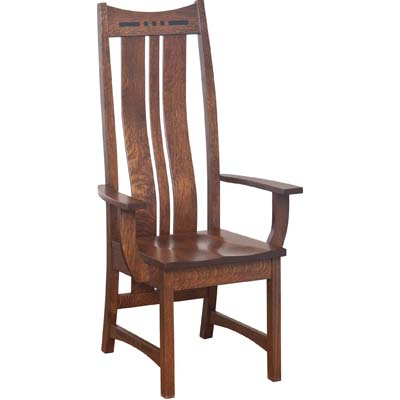 Hayworth Arm Chair High Back