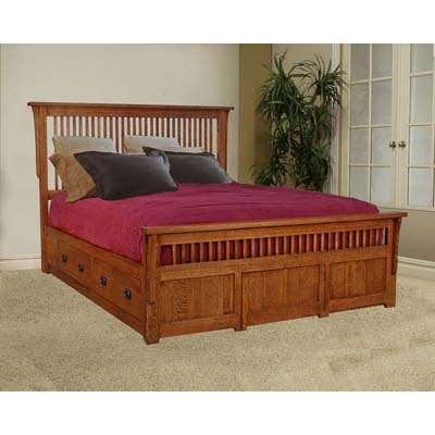 trend_manor_3000_mission_platform_storage_bed_spindle_headboard_footboard