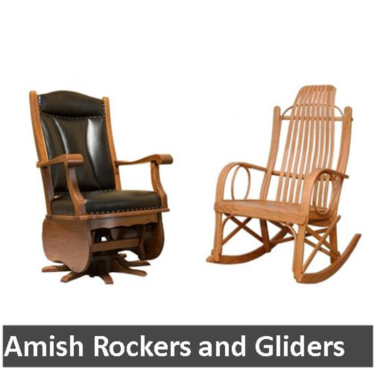 Amish Rockers and Gliders