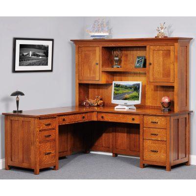 Coventry 950 L-Desk Closed
