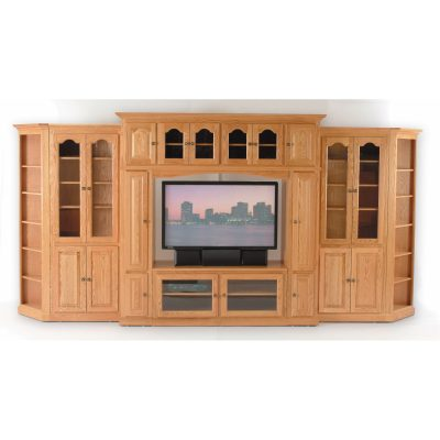 Modular Entertainment Center full spread closed