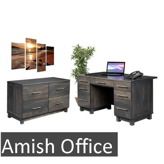 New Amish Office Button