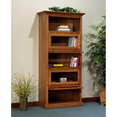 830 Barrister Bookcase Open