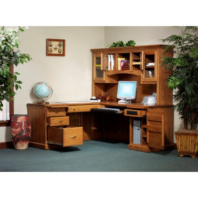 850 Desk 823 Hutch Open