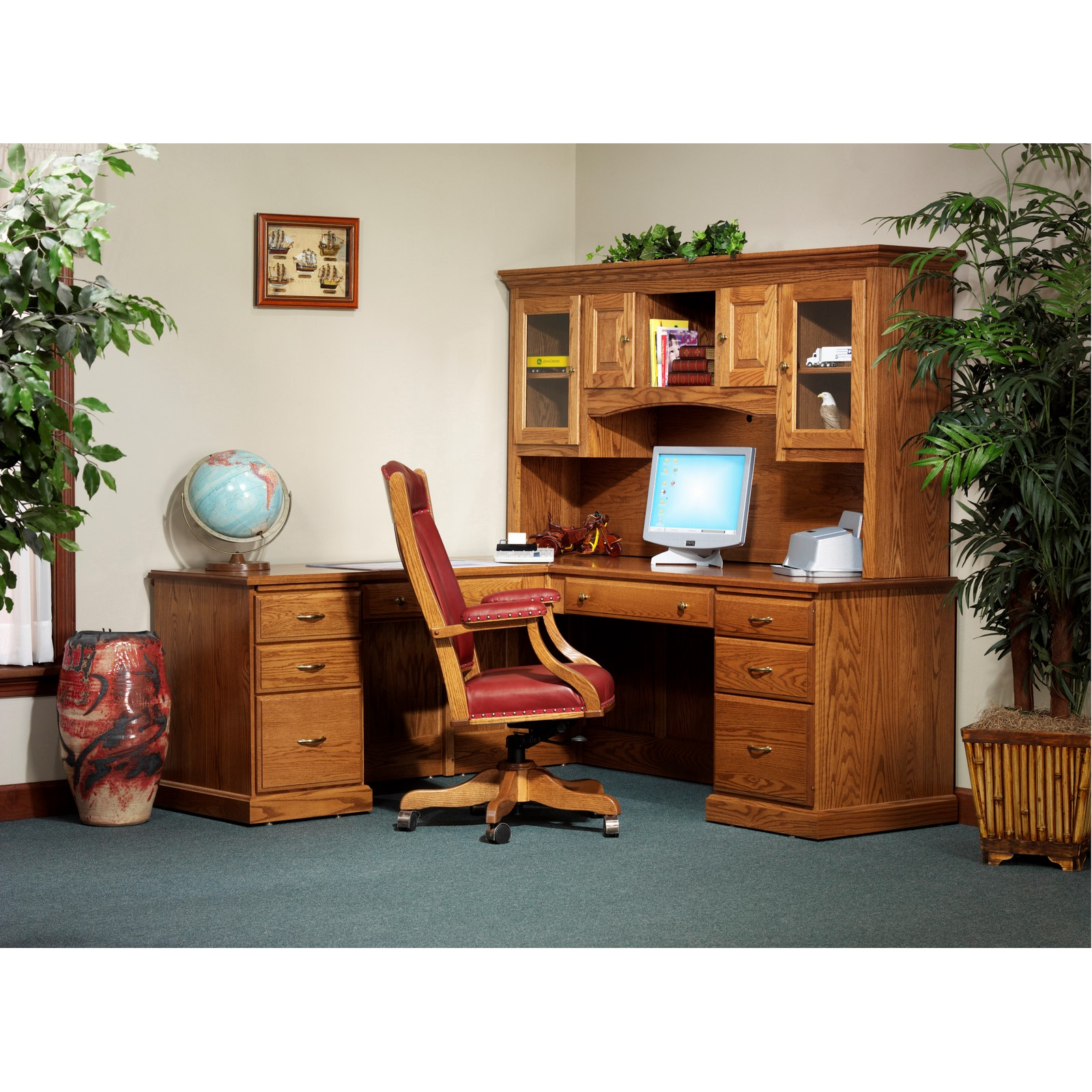 desks desk with computer desktop and pictures best collection fascinating hutch also for