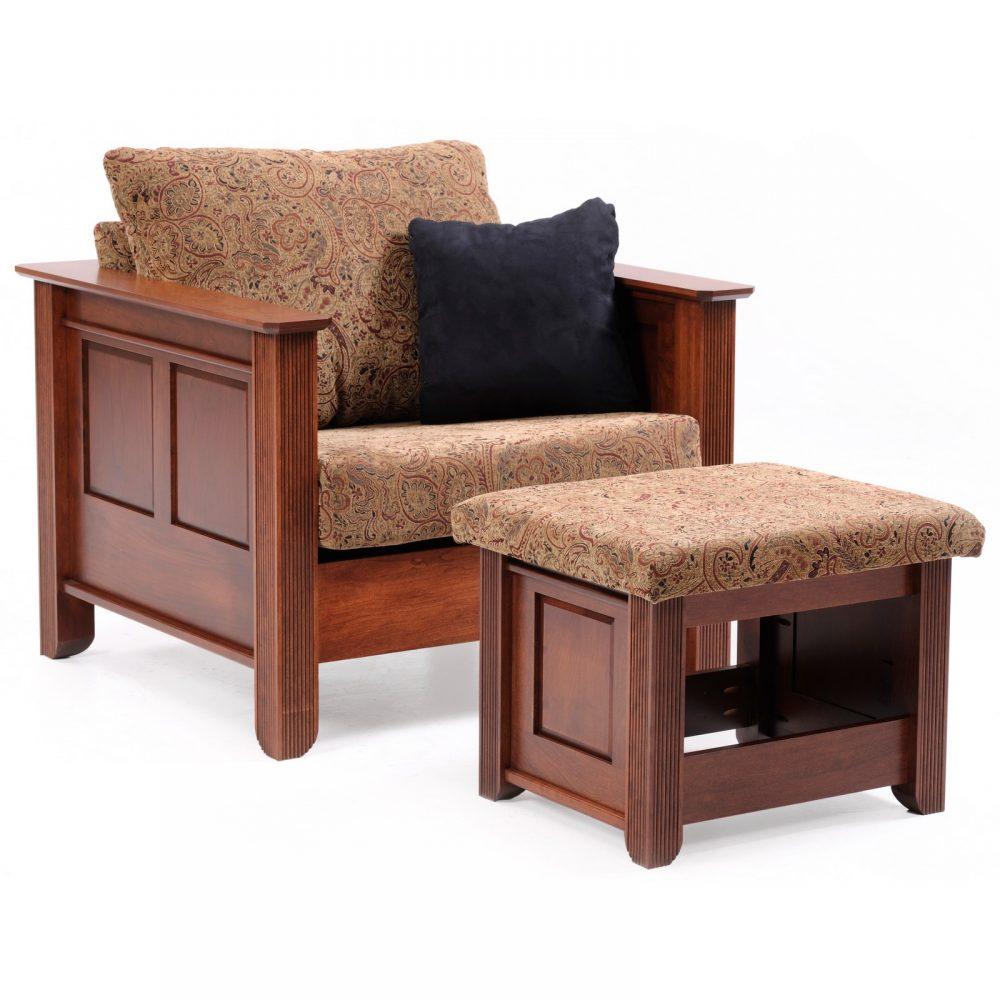 Arlington 7002-7003 Chair-Ottoman