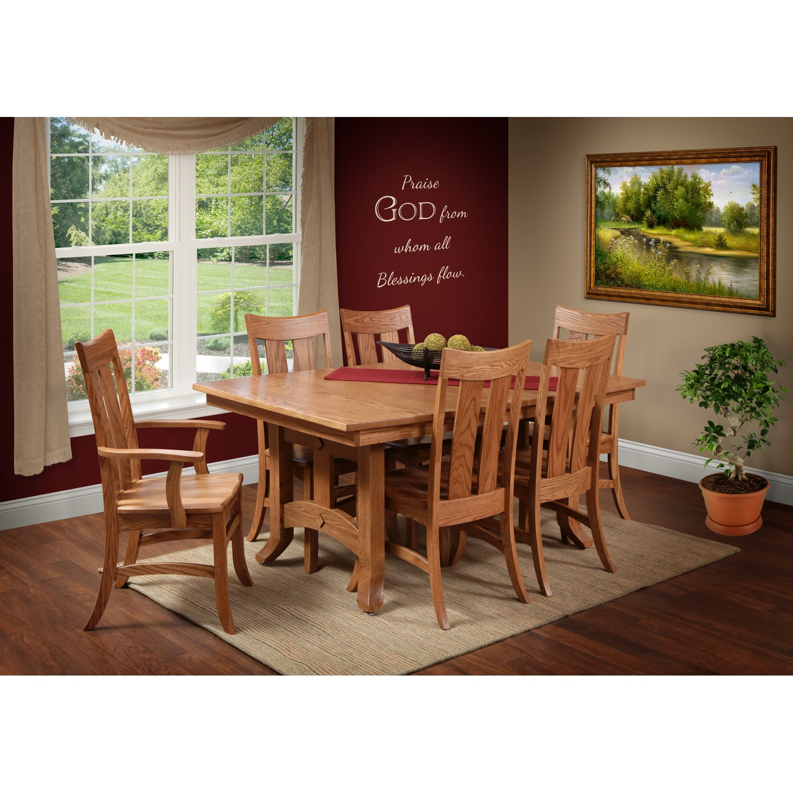 Biltmore 7 Piece Dining Room By Trailway Stewart Roth