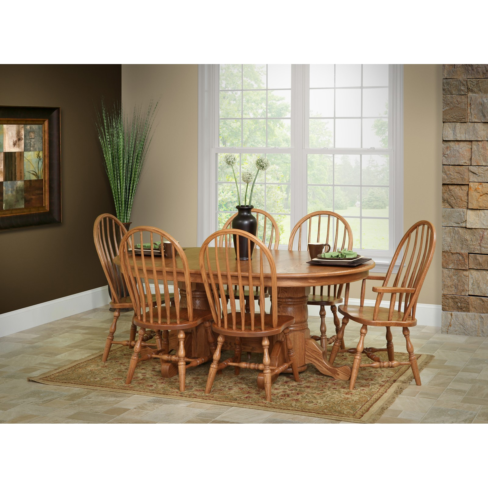 Chateau 7 Piece Dining Set By Trailway