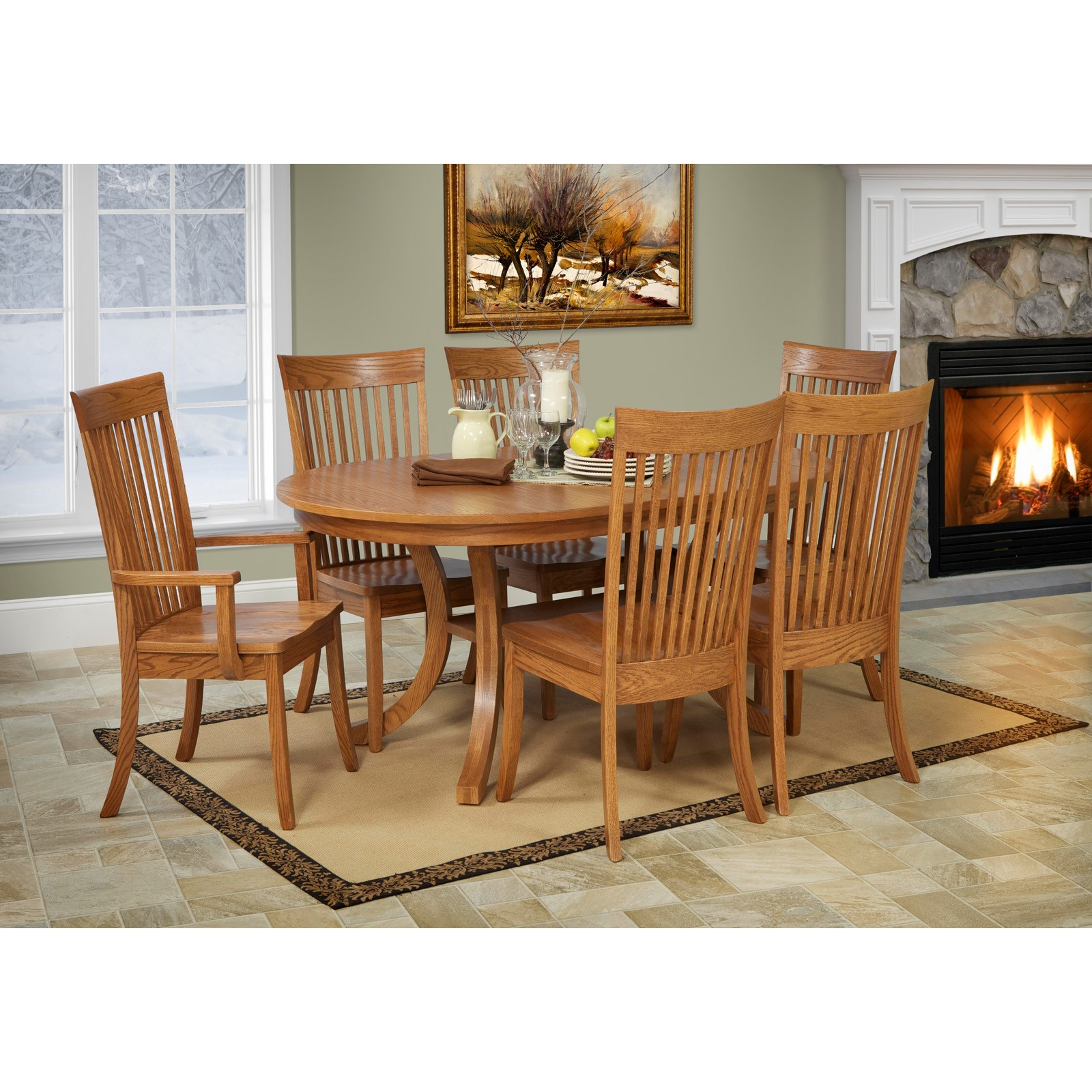 Dining Room Collections: Chelsea 7 Pc Dining Set By Trailway