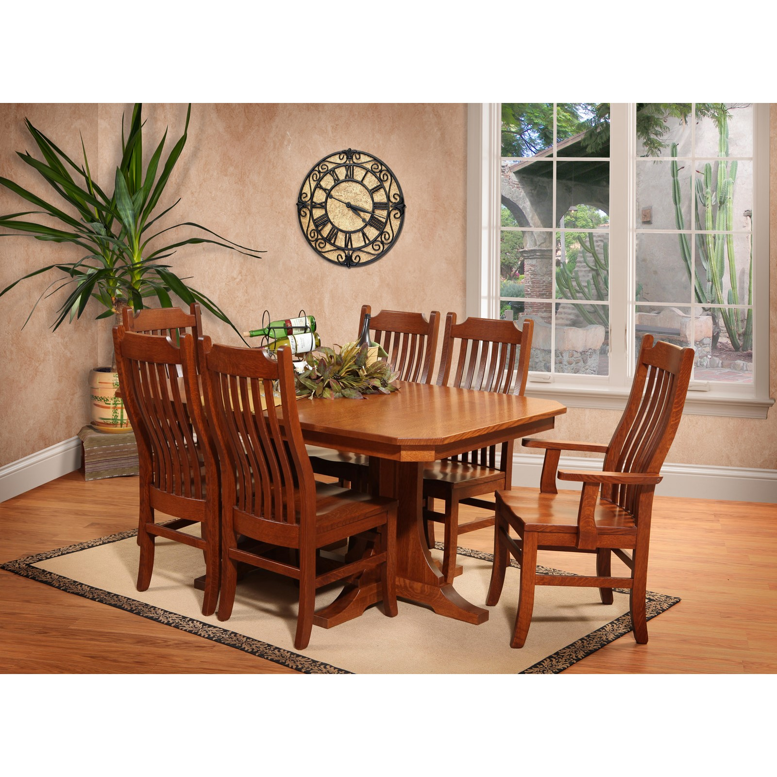 Copper Canyon 7 Pc Dining Room Set By Trailway