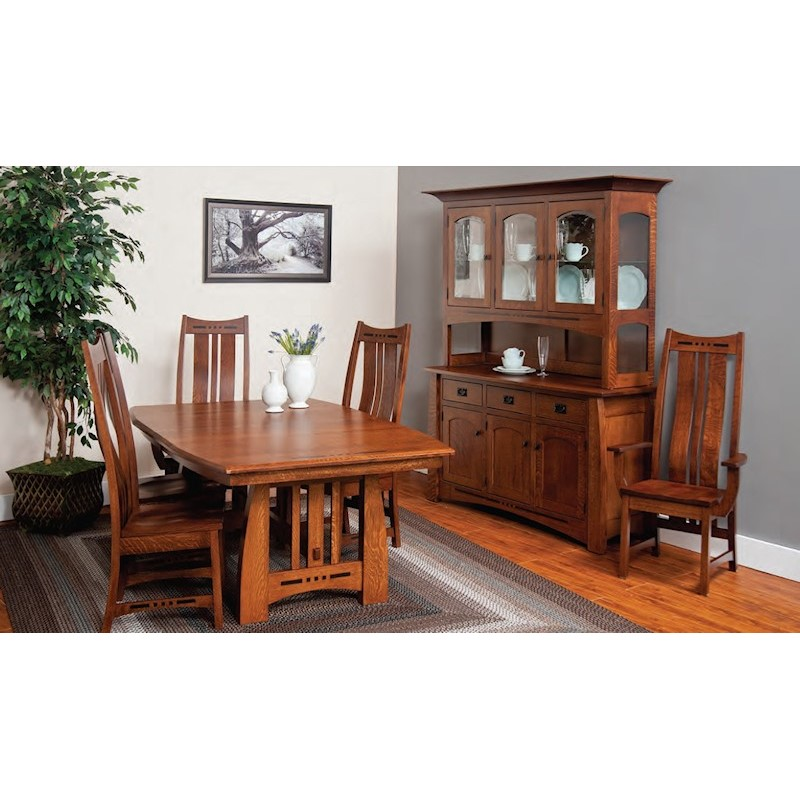 Fusion Design Hayworth Dining Room Collection. Fusion Designs Hayworth 5 Pc Dining Set w  2 Pc China Cabinet