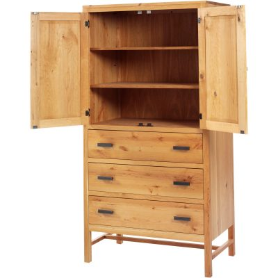 MF1041AM Linnwood Open Armoire