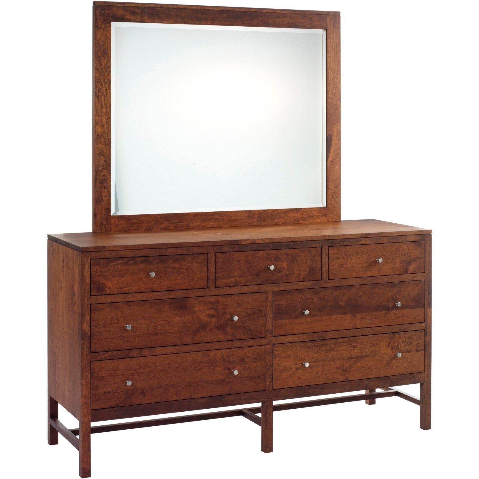 Millcraft Lynnwood Dresser With Mirror Stewart Roth