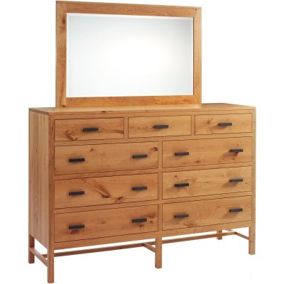 MF1066DR MF1052MR High Dresser w Mirror