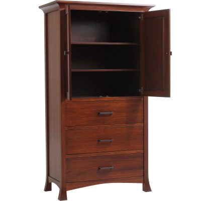 MFP741AM Oasis Armoire Open