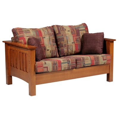 Mission 6401 Loveseat Front