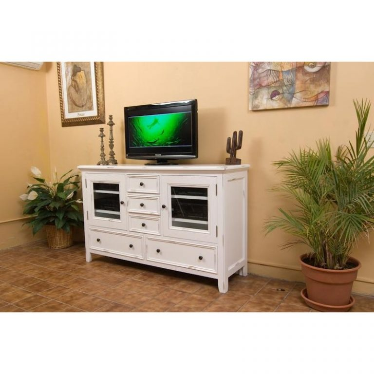 North American Wood Furniture Media Console (3)