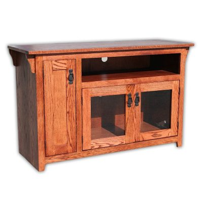 Oak Design Corp 48 inch Mission TV Console