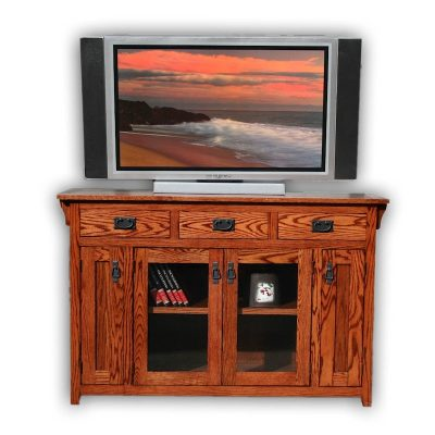 Oak Design Corp 56 inch Mission TV Console
