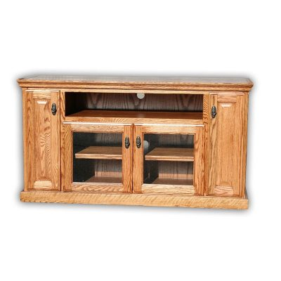 Oak Design Corp 56 inch Traditional TV Console (2)