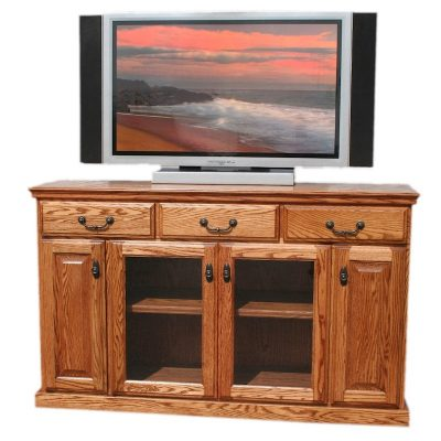 Oak Design Corp 56 inch Traditional TV Console