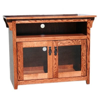 Oak Design Corp Mission TV Console