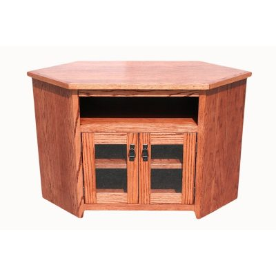 Oak Design Corp Mission corner TV Console (2)