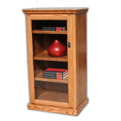 Oak Design Corp Traditional Stereo Tower Cabinet