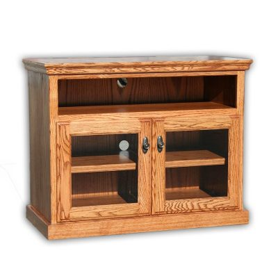 Oak Design Corp Traditional TV Console