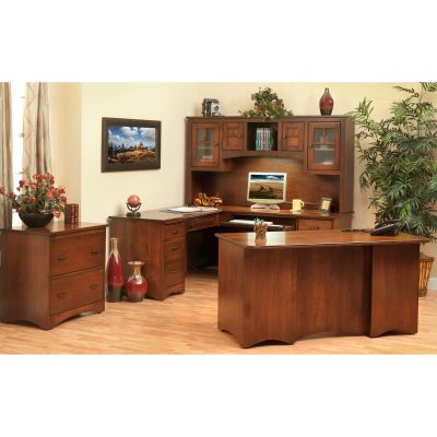 Prairie Mission 650-660 Desks w-light Suite