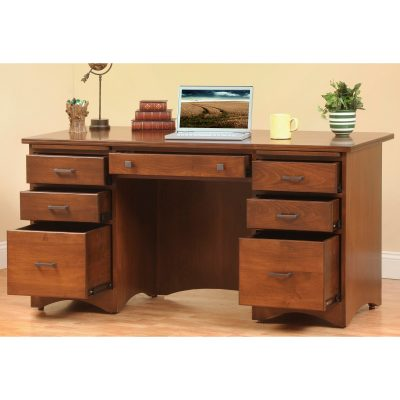 Prairie Mission 660 Executive Desk Open