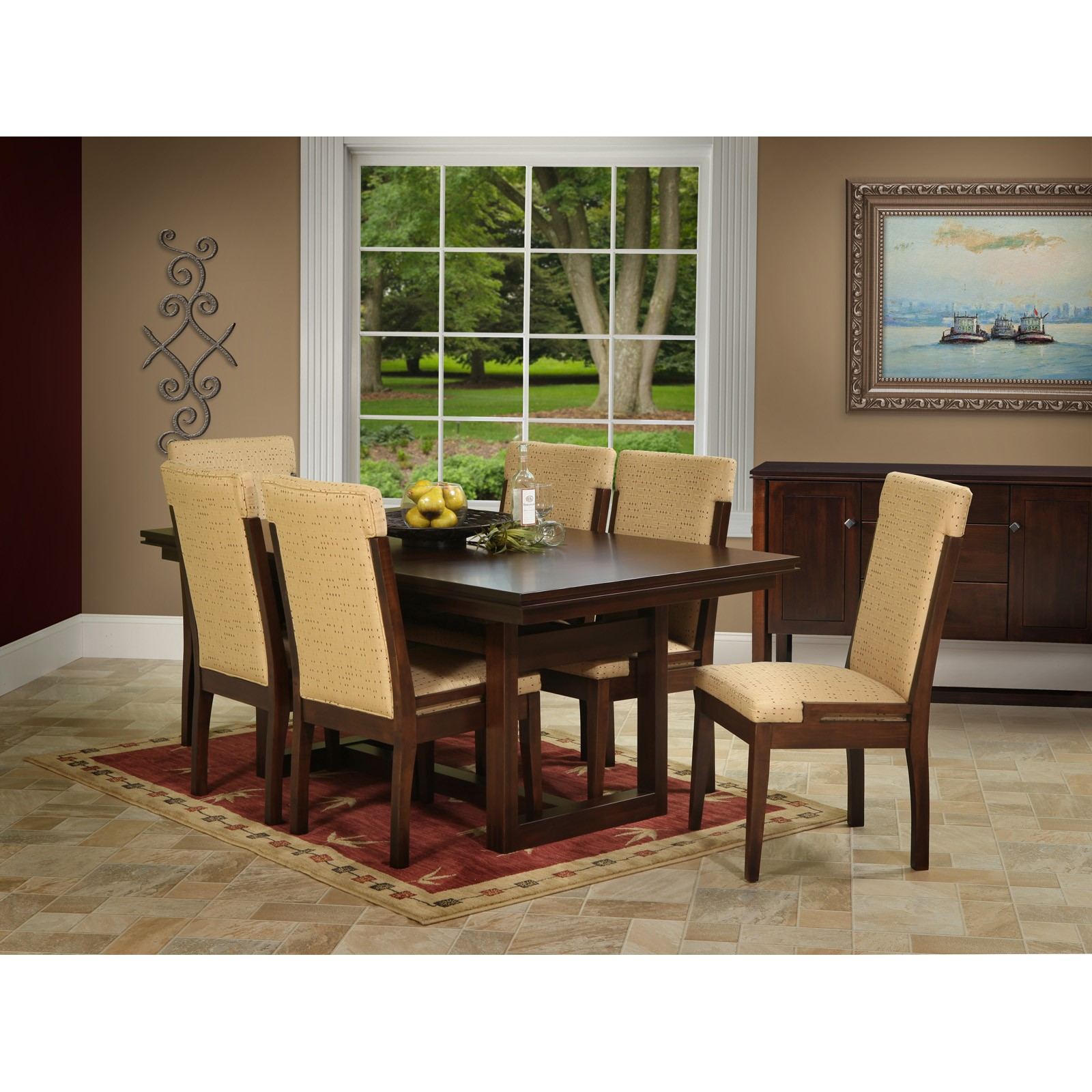 Soho 7 Pc Dining Set By Trailway