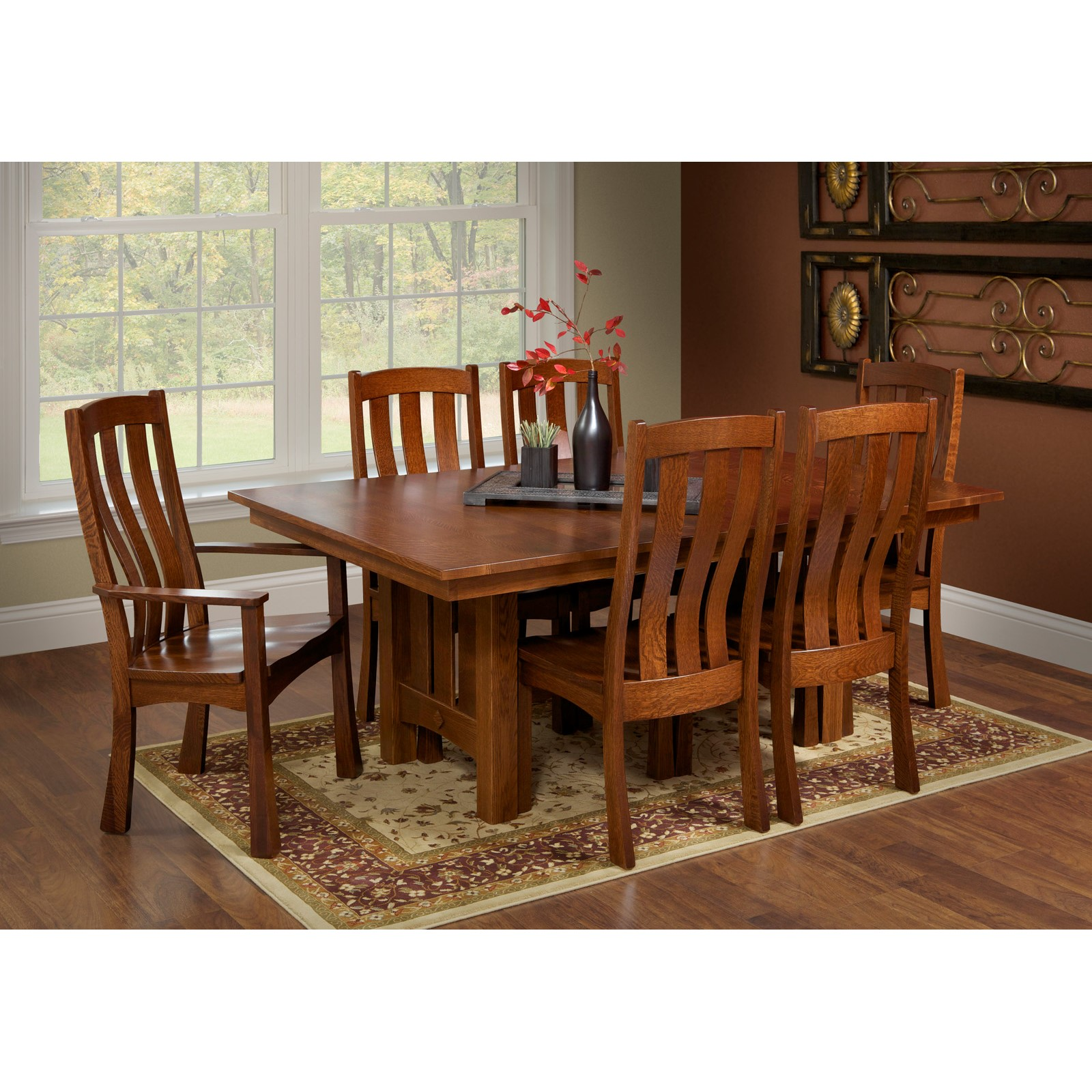7 pc dining room set kingston 7 pc wood dining room set dining room sets dining 7 pc dining - Pc dining room set ...