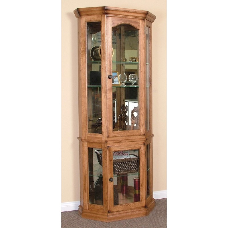 Sunny designs rustic curio cabinet stewart roth furniture for Showcase designs for living room with glass