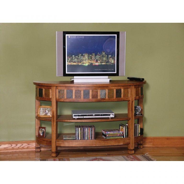 Sunny Designs Rustick Oak Sofa Table