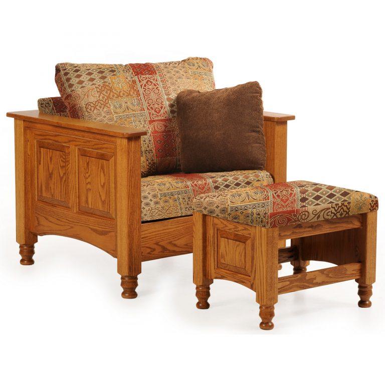 Trad 6002-9003 Chair-Ottoman