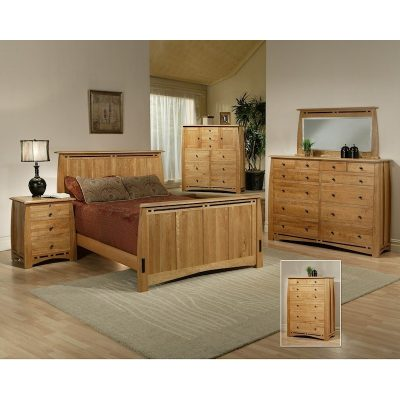 Trend Manor African Cherry Bedroom Collection
