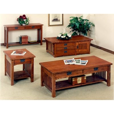 Trend Manor Mission Living Room Table Collection