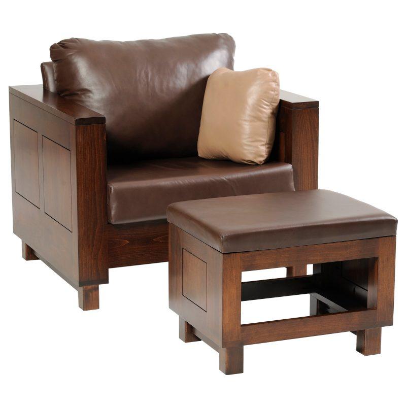 Urban 8000 Chair-Ottoman