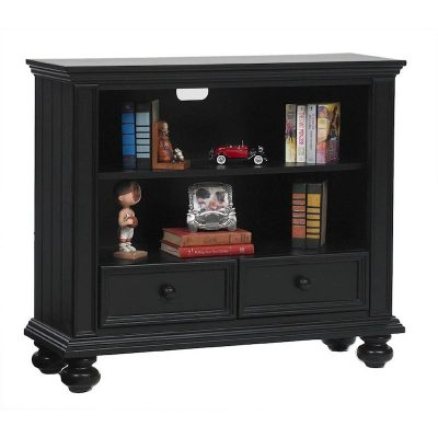 Winners Only Cape Cod Ebony 42 inch Bookcase Media Base