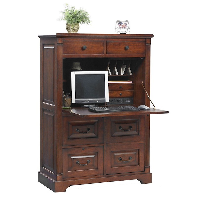 Winners Only Country Cherry 41 Computer Armoire Stewart
