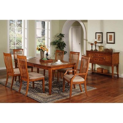 Winners Only Topaz Cinnamon 7 Piece Dining Room Collection