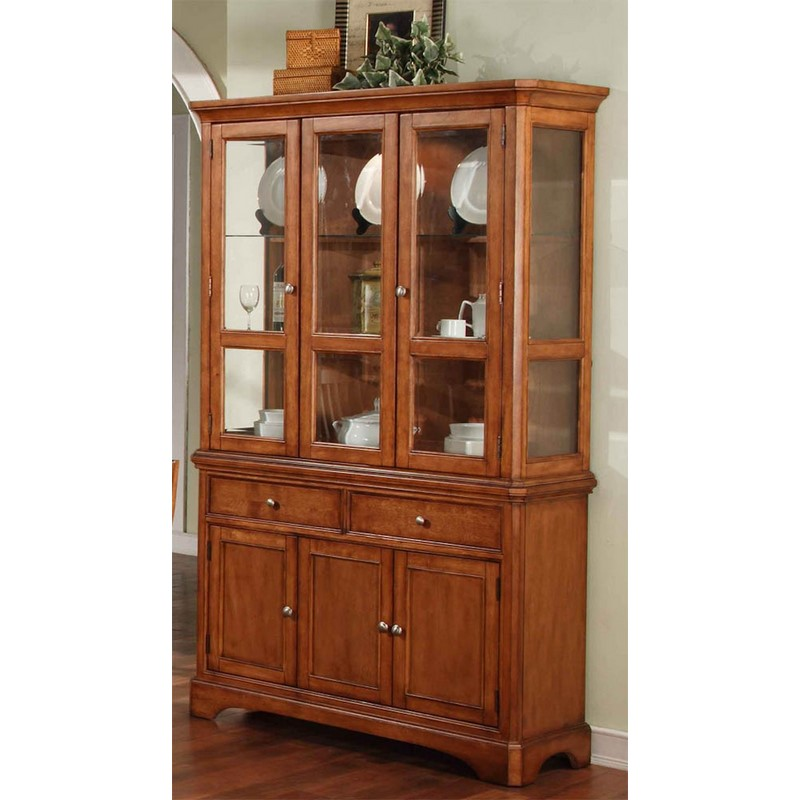 Winners Only 2 Pc Topaz Cinnamon China Cabinet Stewart  : Winners Only Topaz Cinnamon Buffet and China from stewartrothfurniture.com size 800 x 800 jpeg 93kB