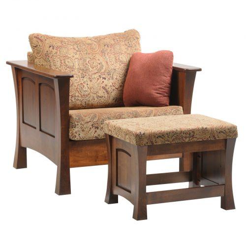 5032-Woodbury-Chair-5033-Ottoman cropped