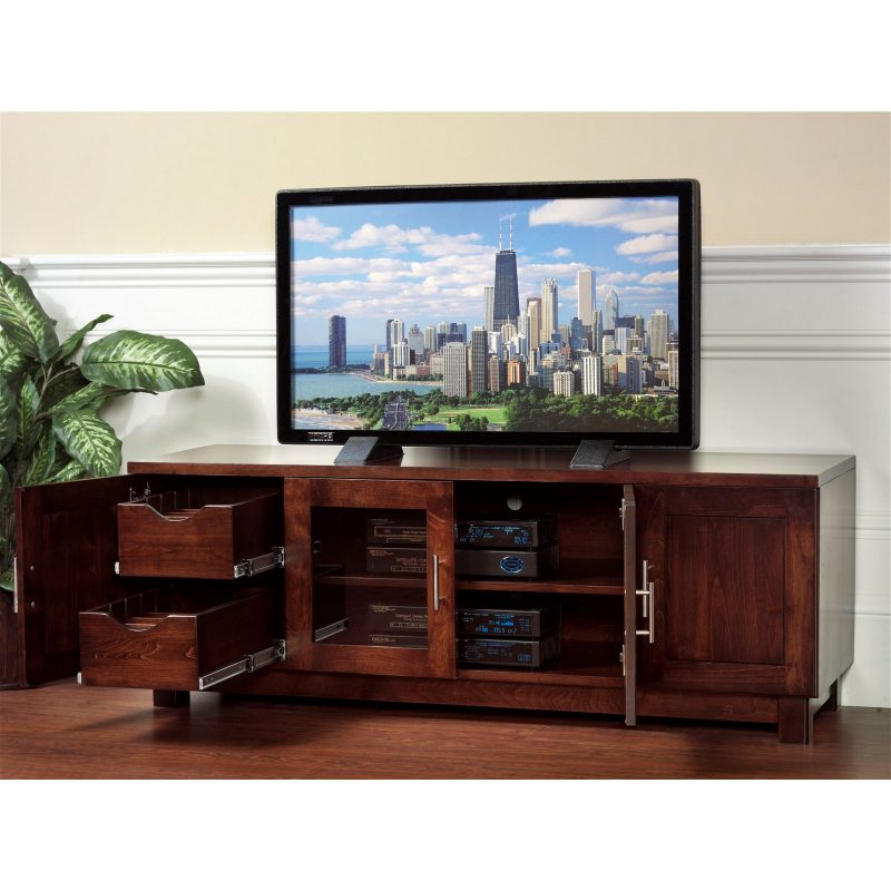 522 Urban TV Stand open