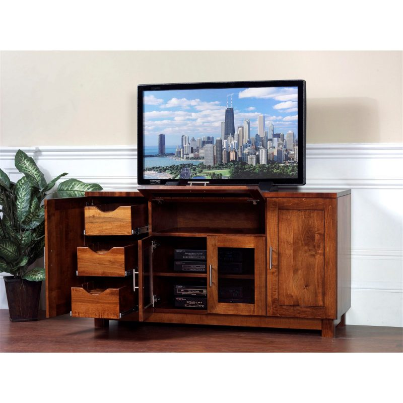 526 Urban TV Stand open