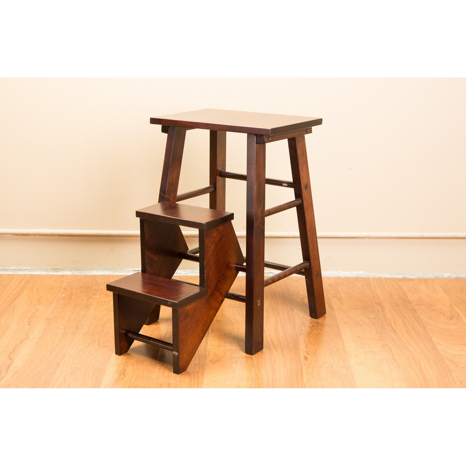 Creative Wood Design Fold Out Step Stool Stewart Roth