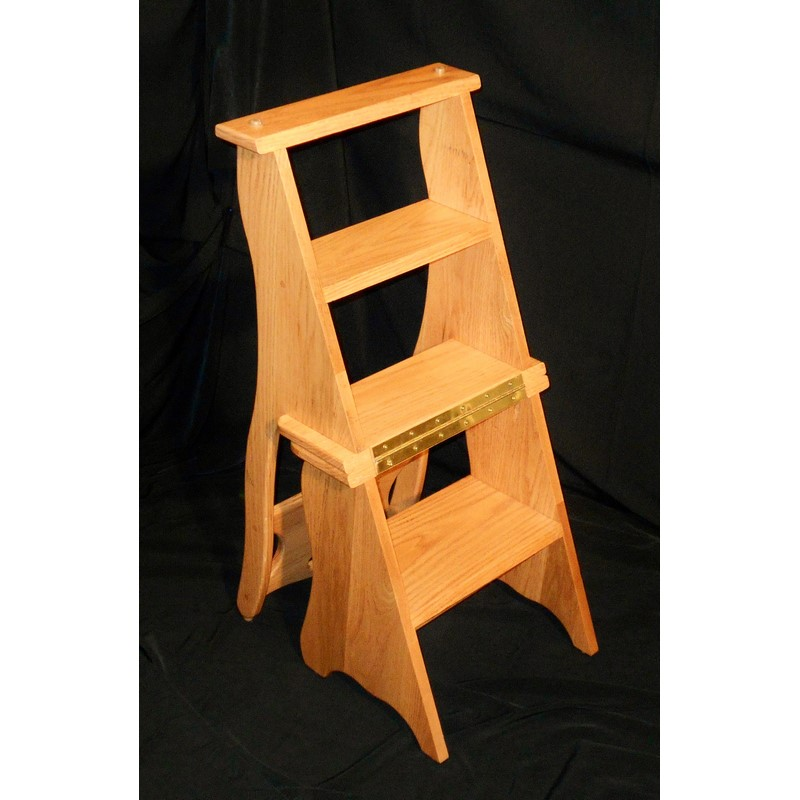 Creative Wood Design Convertible Library Chair Stewart