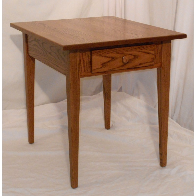 creative wood design shaker end table - stewart roth furniture