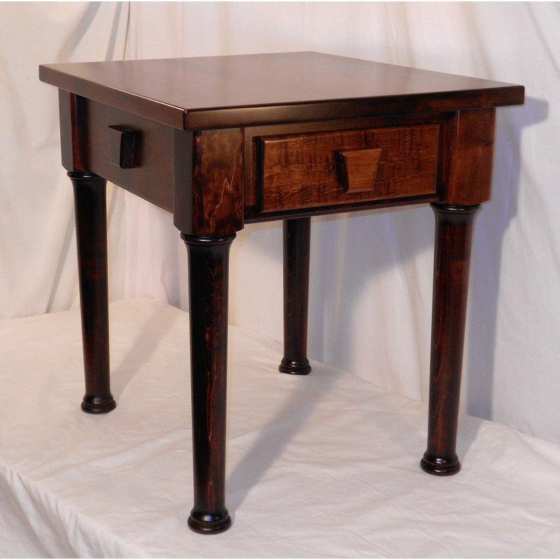 creative wood design keystone end table stewart roth